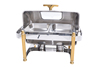 New arrival commercial hot food buffet chafing dish food warmer server
