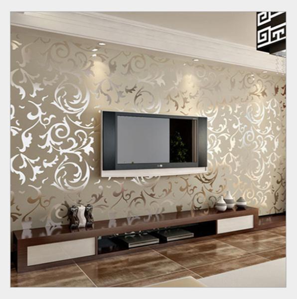Contemporary Home Style By B B Italia: Estilo Italiano Papel De Parede Vender Por Atacado