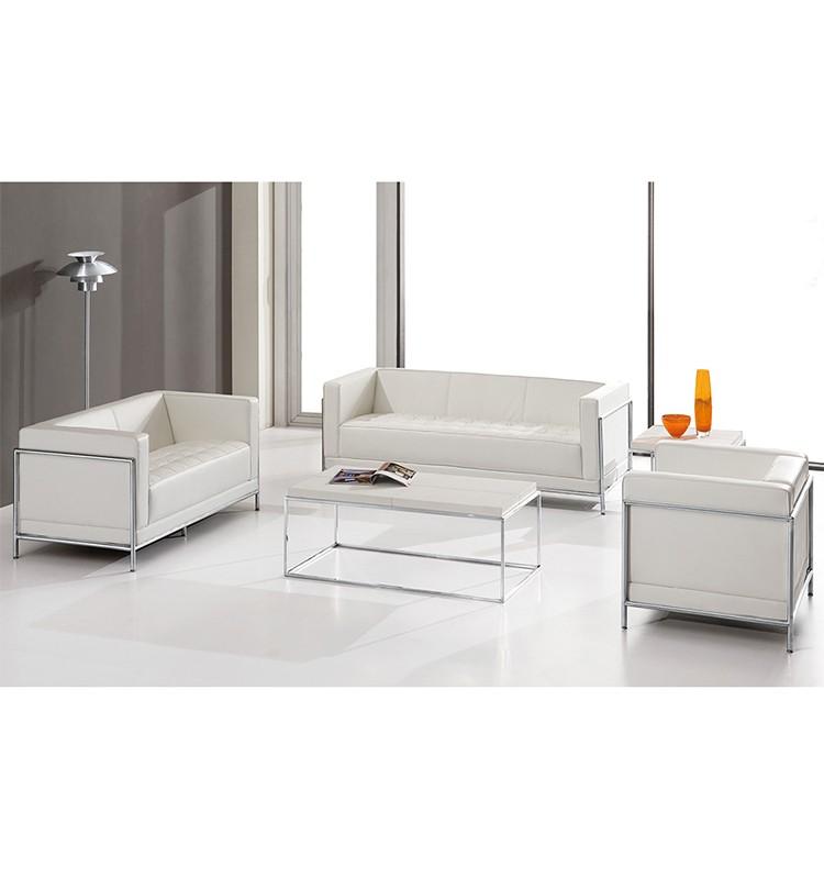 mod le en cuir de haute qualit blanc bureau chambre canap canap bureaux id de produit. Black Bedroom Furniture Sets. Home Design Ideas