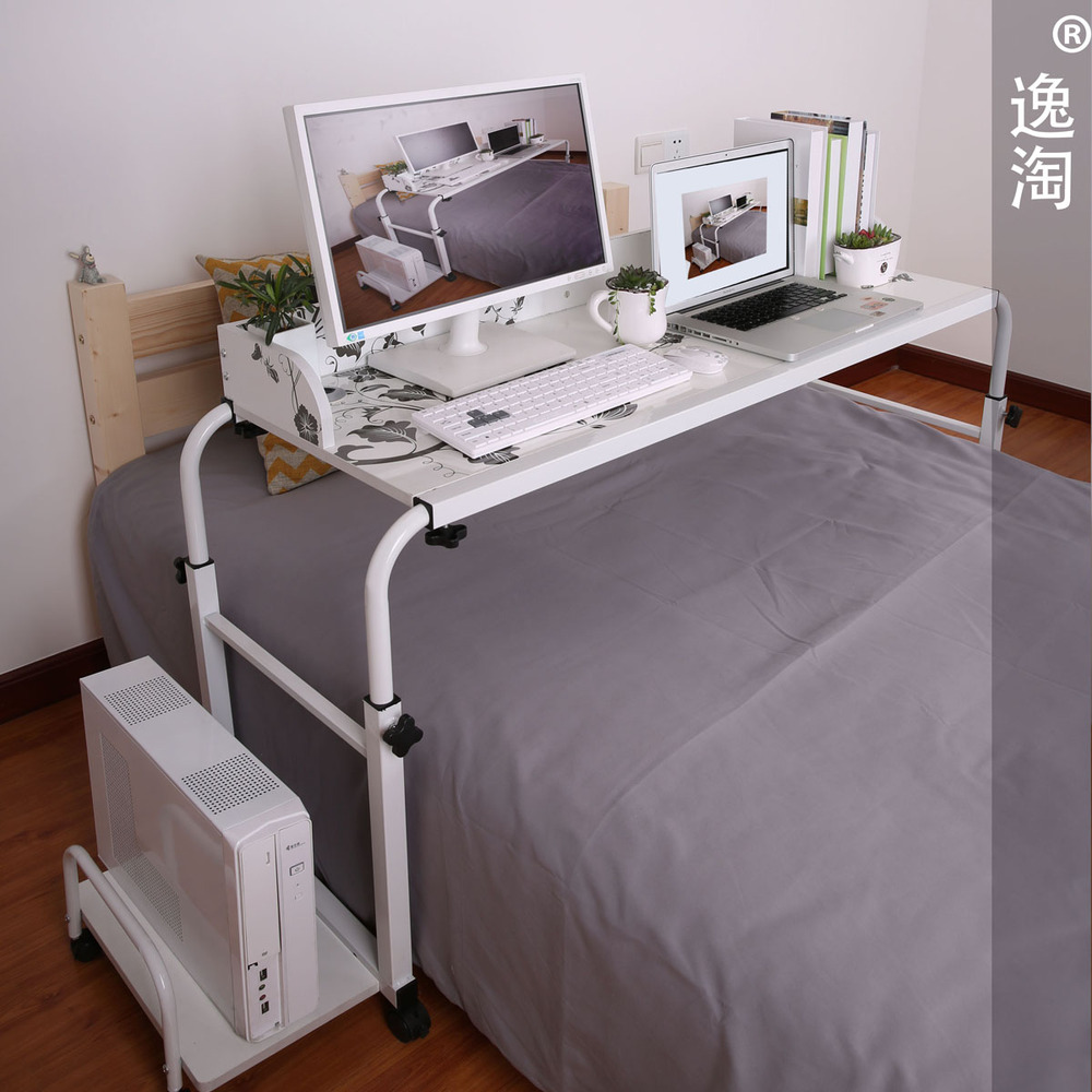 Amoy Plaza Double Bed Lounger Bed With Ikea Computer Desk