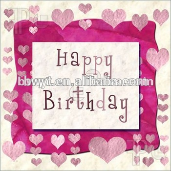 Happy Birthday Greeting Card Sethandmade Designs123 Wishes