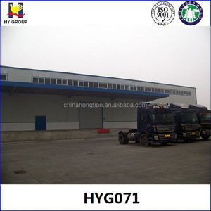 Fish and vegetable prefabricated steel structure cold storage