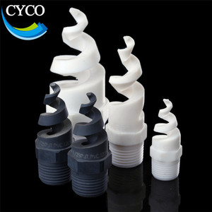 Spiral full cone pvc spray nozzle