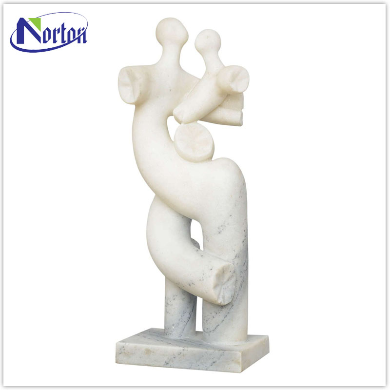 Abstract marble mother and child sculpture for sale NTMS-025Y