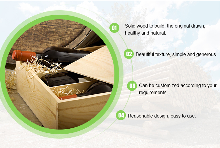 Good Quality Customized Buy Wooden Wine Boxes
