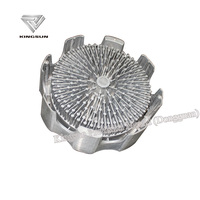 Magnesium Alloy Light Radiator/heat sink die casting part,Round shape ,OEM making