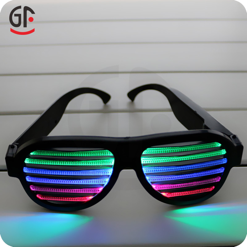 Novelty Concert Essential CE RoHS Sound Activated Men Sunglasses