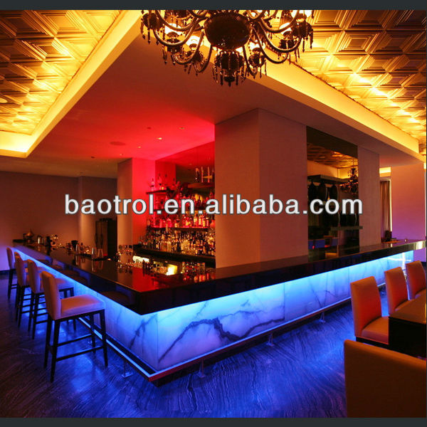 Oem moda exuberante discoteca muebles bares tiki giratorio for Muebles para bares y restaurantes