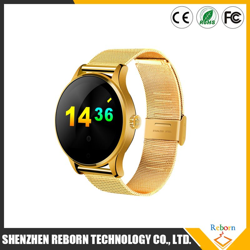 2016 China brand Vogue smart watch / blood pressure monitor watch / gps tracking system for young people