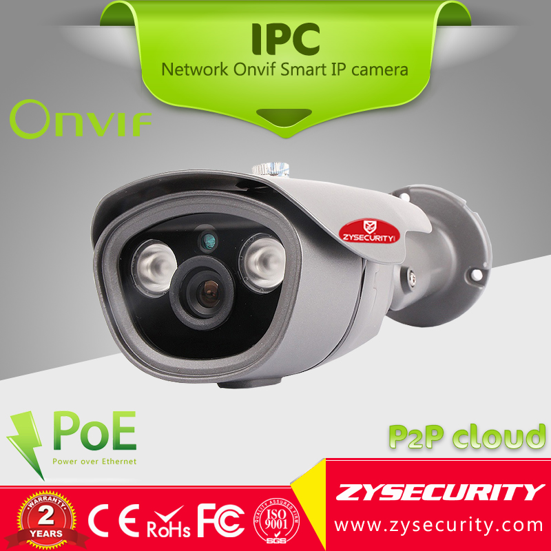The best quality CCTV 1.3MP fixed lens HD Onvif IP camera,Support P2P xMEye remote view,30M IR distance POE IP camera