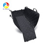 Waterproof Pet Dog Car Seat Covers Nonslip Bench Seat Cover Compatible for Middle Seat Belt and Armrest Fits Most Cars Trucks