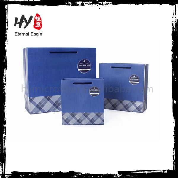 High class recycling color printing merchandise customised paper bag