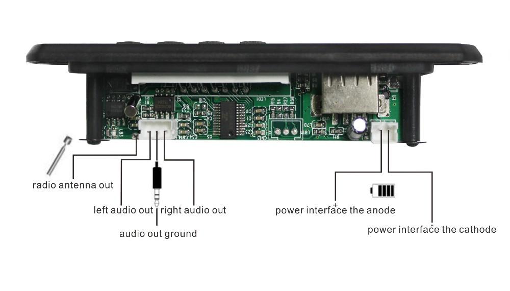 Mini Fm Portable Solar Radio Usb Sd Mp3 Player Kit Circuit