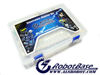 ALSRobotBase Educational Electronic Starter Kit with Carduino Micro Controller for Students