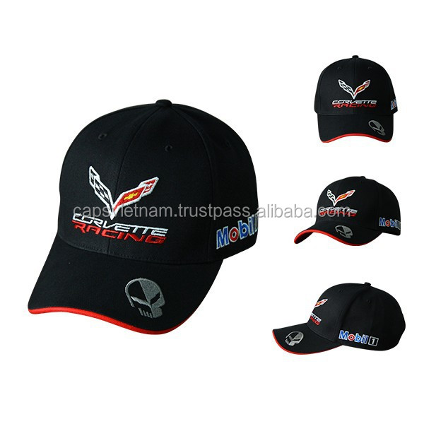 Oil and gas Mobil Baseball caps
