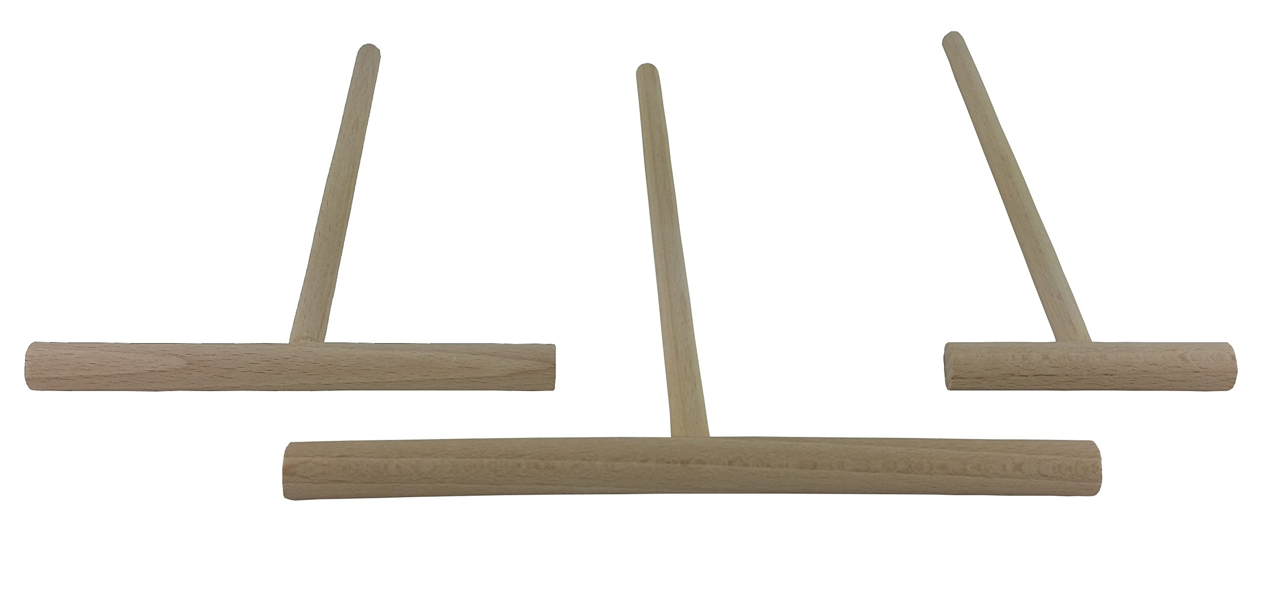 BICB Beechwood Crepe Spreader - 3 Piece Set (7.9-inch and 5.5-inch and 3-inch Spreader )
