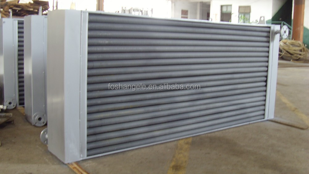 Stainless Steel Hot Air Heat exchanger Coils & Finned Tube Radiator for Stenter Setting And Drying Machine