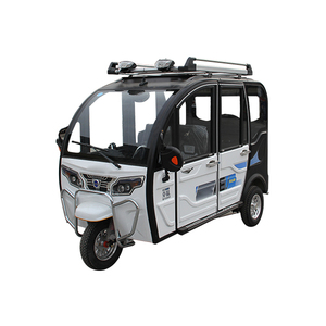 Solar electric tricycle for passenger three wheel electric vehicle for sale