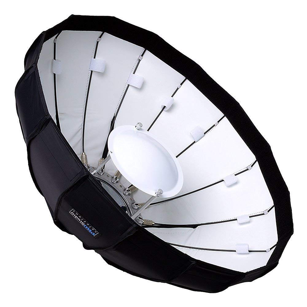 and Compatible Collapsible Beauty Dish and Softbox Combination with Eggcrate Grid and Multiblitz V Speedring for Multiblitz V 120cm Varilux Pro Studio Solutions EZ-Pro 48in