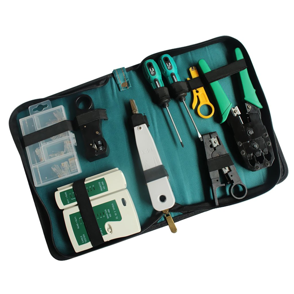 Cheap Network Punch Down Tool Find Deals On Rj11 Block Wiring Get Quotations Monkeyjack Cable Repair Kit Wire Impact Dual Modular