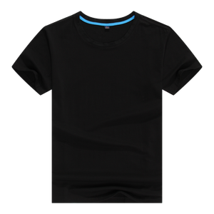 95 cotton /5 polyester elastane black casual style t-shirt t shirts for men