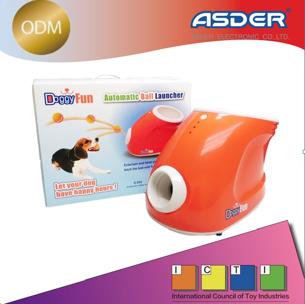 Automatic dog ball shoot machine and tennis ball thrower for dogs