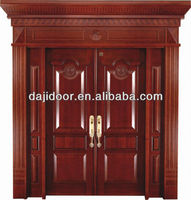 Luxury Carved Oversize Exterior Doors Solid Wood DJ-S8775STHS