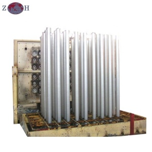 Hot top extrusion aluminium billet casting machine