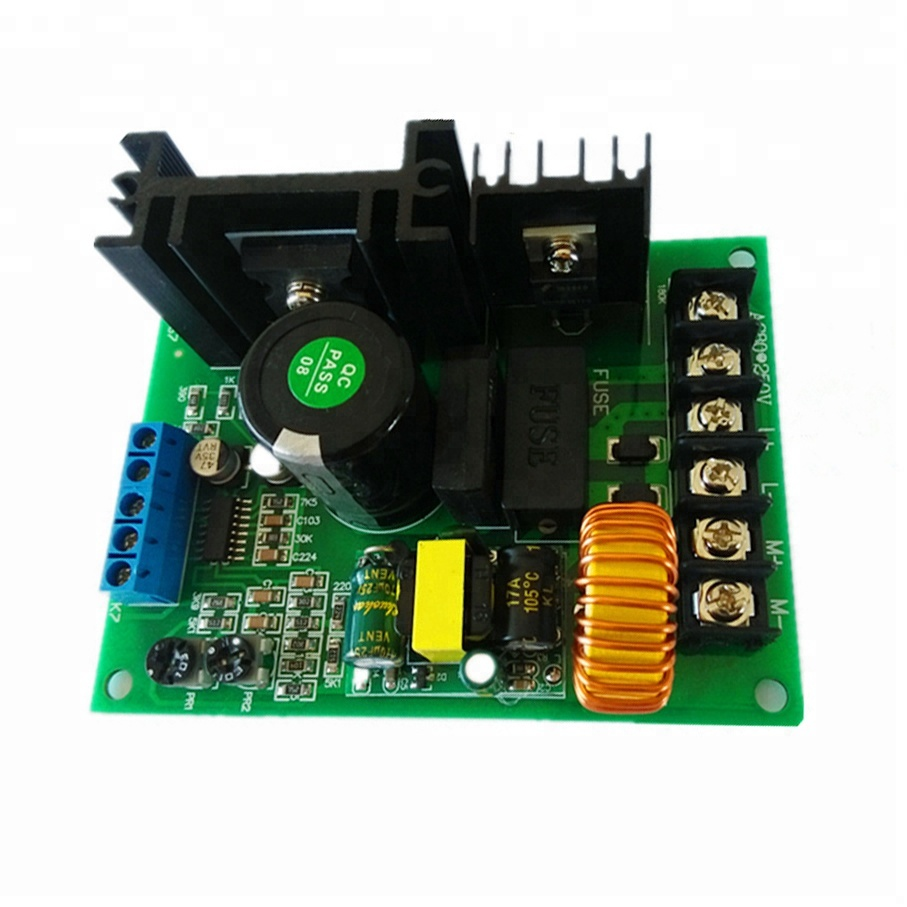 PWM 110V 220V 800W DC Permanent Excitation Motor Governor Controller Board