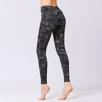2019 wholesale drop shipping women fitness running leggings top selling sports tight camo yoga pants leggings