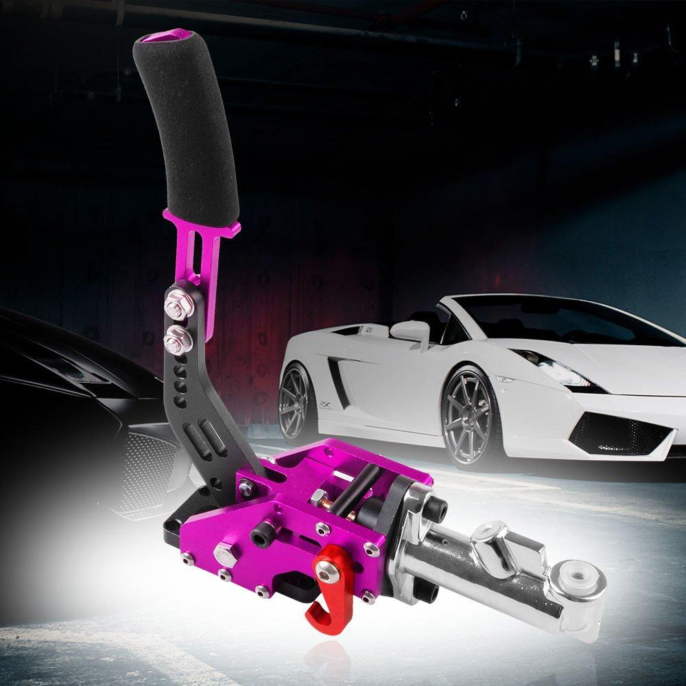 Universal Car Hydraulic Handbrake Racing Handbrake Drift Hand Brake Parking (Purple)