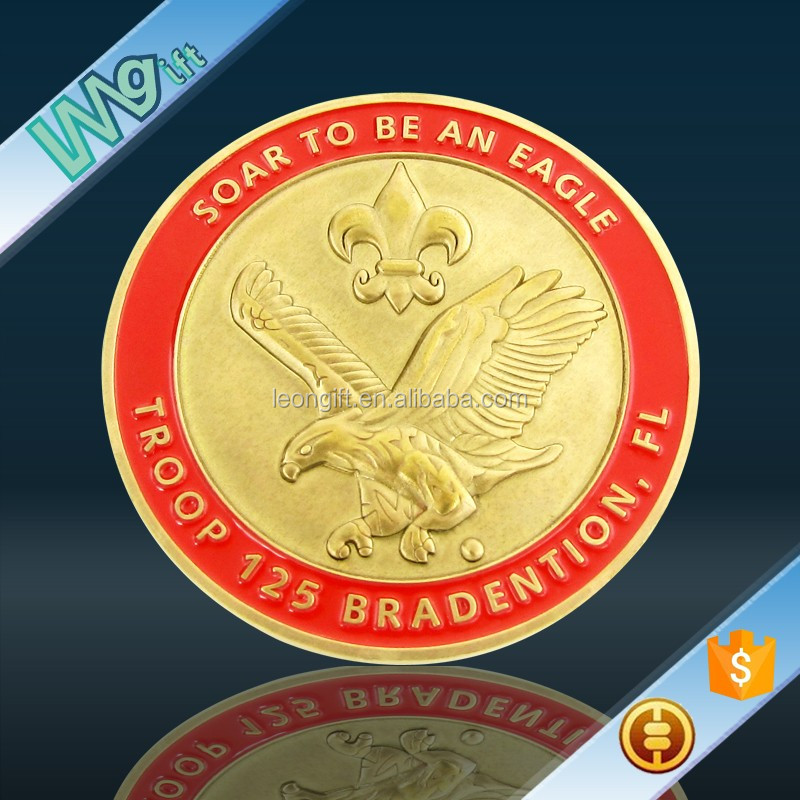 Hot item chief coins in USA with 3D EAGLE