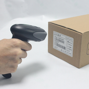 Hot Selling Long Wired Handheld USB laser Barcode Scanner Reader support mobile payment computer screen scanner