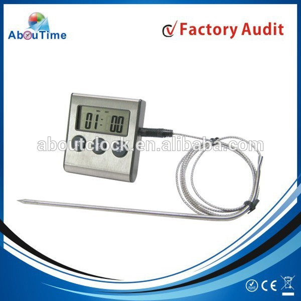 Promotion wire digital food thermometer with meat