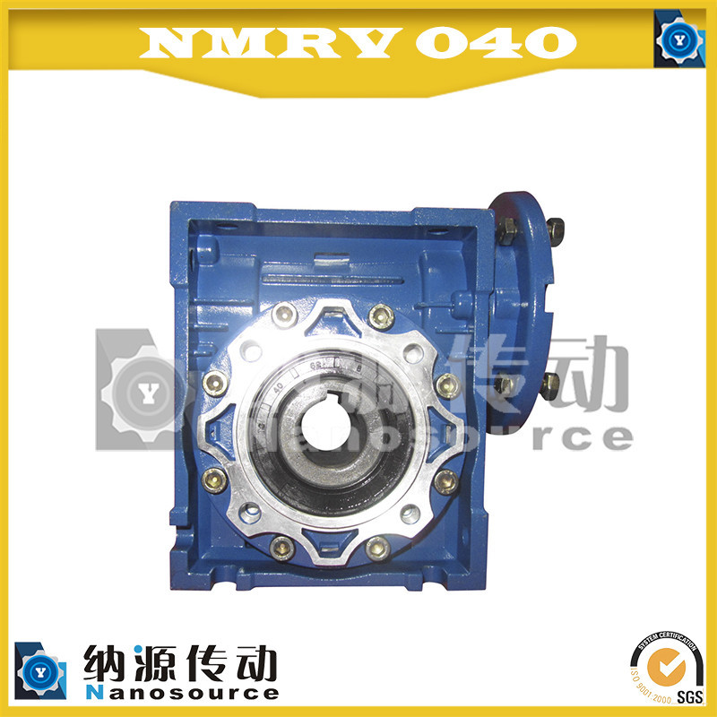 Durable aluminum body nmrv 050 machine speed reducer with antirust treatment