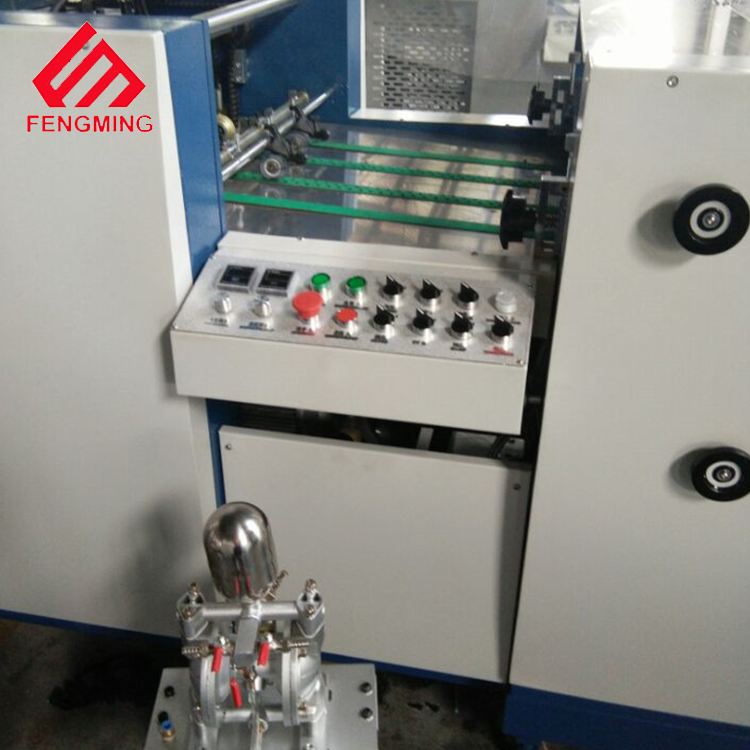 SGUV-650B Automatic UV Varnish Machine with width 650mm