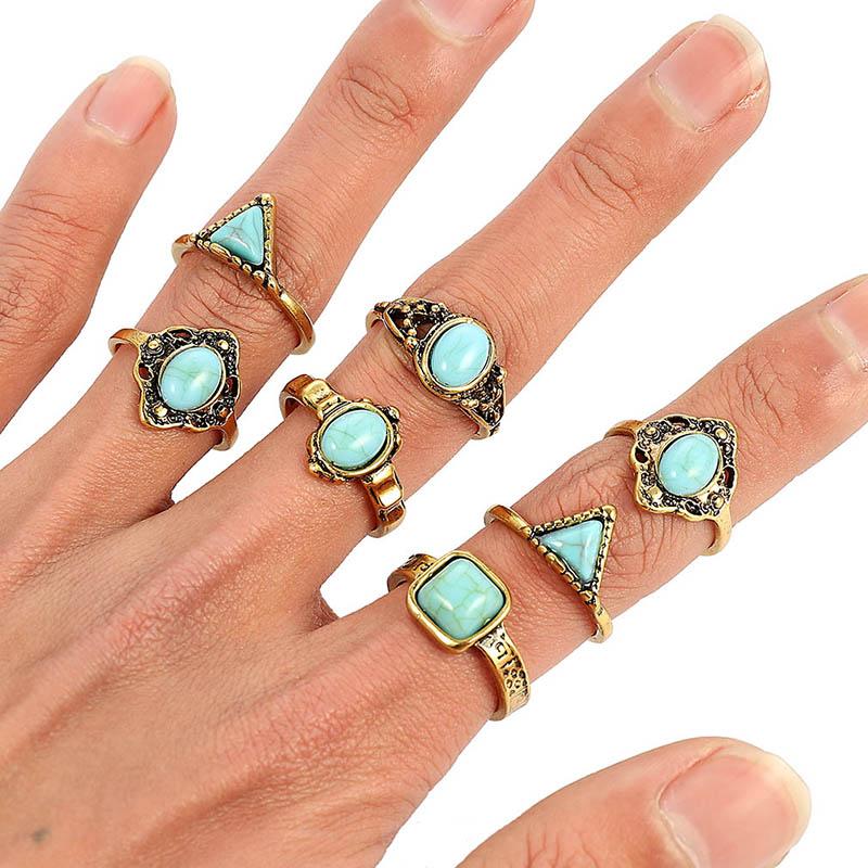 ¡Novedad! anillos redondos de madera Vintage de resina de madera clara hechos a mano anillos de epoxi de flores secas para Mujeres Hombres joyería de fiesta