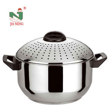 Kitchen Equipment For Home Two Ears Stainless Steel Pasta Pot With