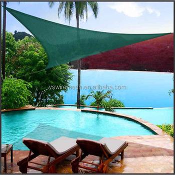Ys Green Garden Triangle Hdpe Polyethylene Uv Protection Outdoor Sun Shade  Sail Cloth - Buy Shade Sail,Sun Shade Sail,Outdoor Sun Shades Product on