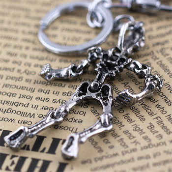 Skull Keychain For Men Personalized Luxury Car Keychains For Couples