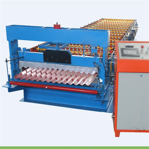 china haixing corrugated sheet metal roofing sheet making bending cutting machine