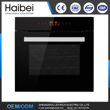 Built-in electric oven with three layers tempered glass for kitchen
