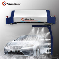 Electric touchless steam car wash self service commercial washer machine waterless mobile car wash equipment