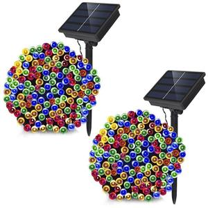 Evermore Outdoor Decorative Christmas Solar Power Led String Lights