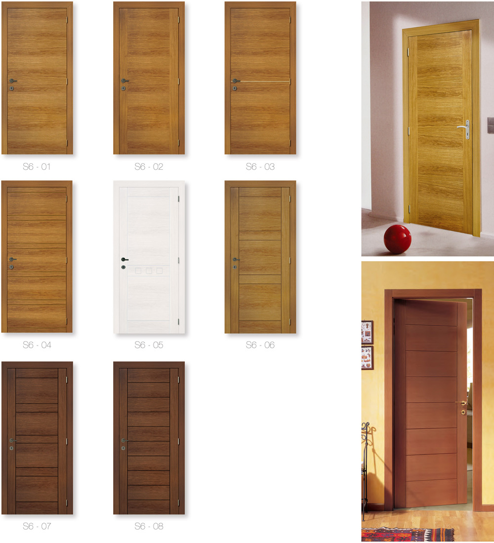 modern design semi solid core wooden doors prices view
