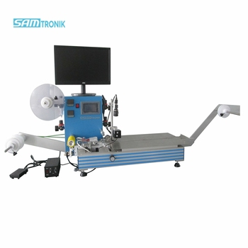 SM-1000B Semi-auto SMD Component Taping Machine Met CCD Detectie