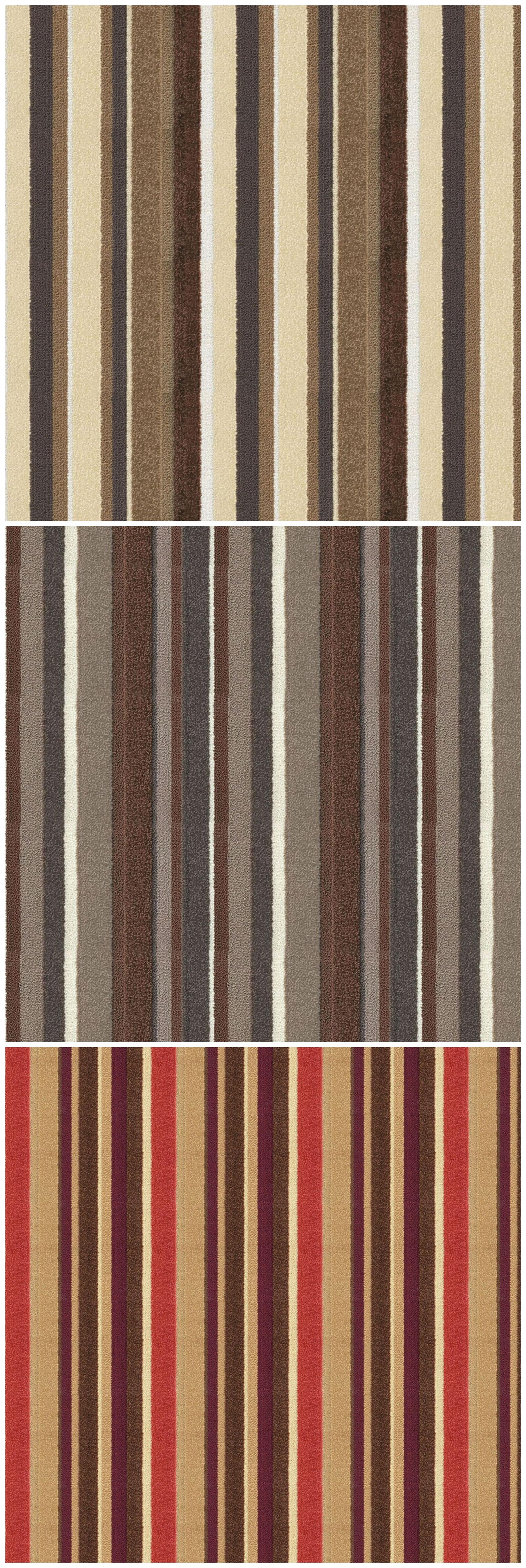 Stripe Pattern Wall To Wall Tufted Carpet For Restaurant, Hotel And Commerical Places In Stock