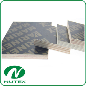 2-35mm black good quality melamine film faced plywood cheap film faced plywood for sale
