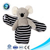 Stuffed animal plush koala baby doll with swaddle wrap blanket