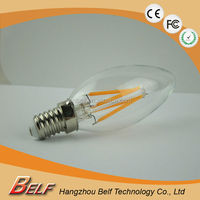 factory price high quality 220 volt led bulb candle light for led lighting project